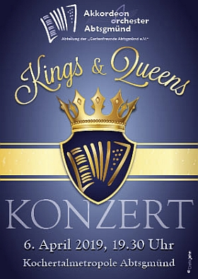 Konzertflyer Kings & Queens