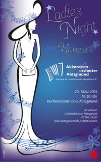 "Konzertplakat ""Ladies Night"""